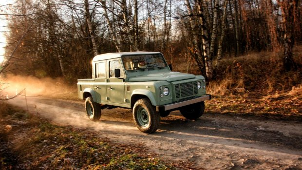 Land Rover Defender leeft weer