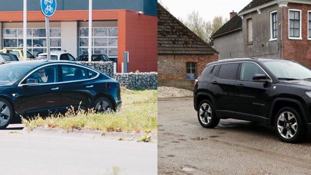 Duurtest Jeep Compass: net een Tesla?