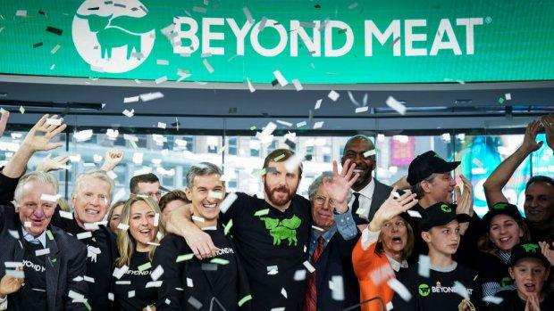 Koers 'burgerbedrijf' Beyond Meat explodeert bij beursgang