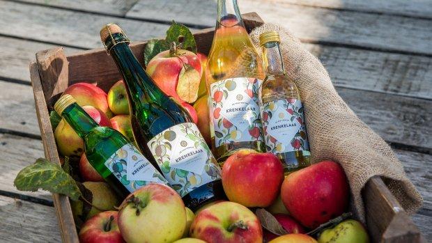 Cider van afgekeurde appels helpt bijen en Betuwe