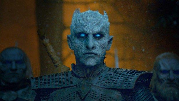 Hoe de Night King uit Game of Thrones er in het echt uitziet
