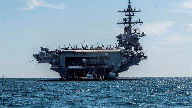 VS stuurt oorlogsschepen richting Iran