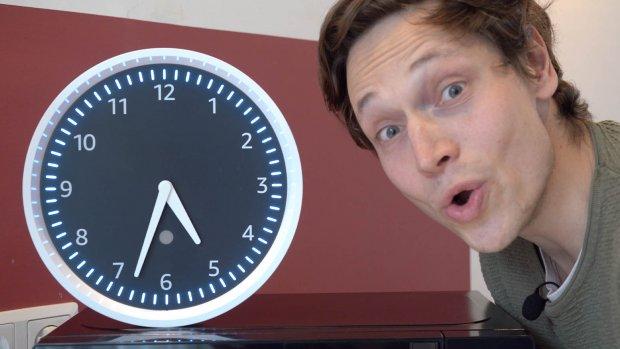 Getest: hoe handig is deze klok van Amazon?