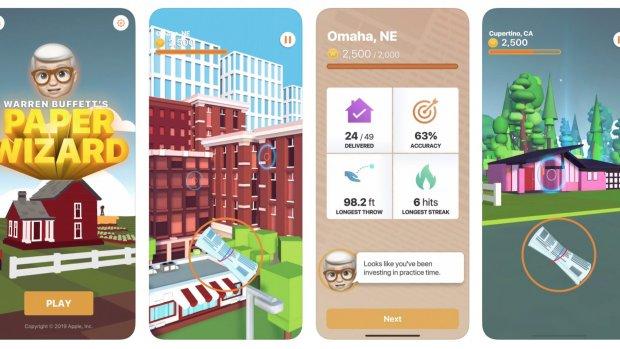 Apple lanceert Warren Buffett-spel voor iPhone