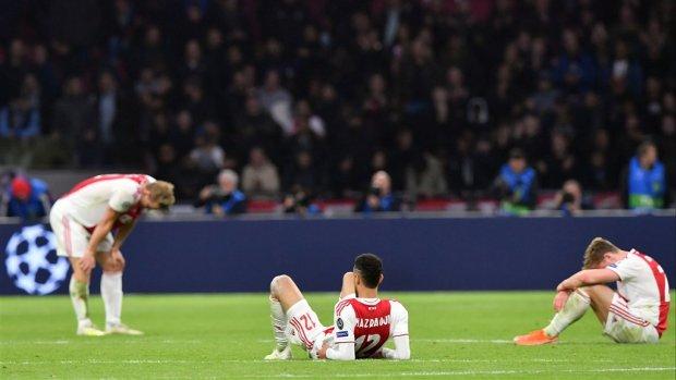 Ajax verliest 90 miljoen euro aan beurswaarde na CL-drama