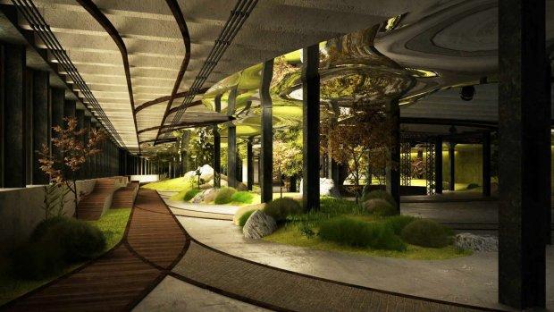 Dit wordt het eerste ondergrondse park