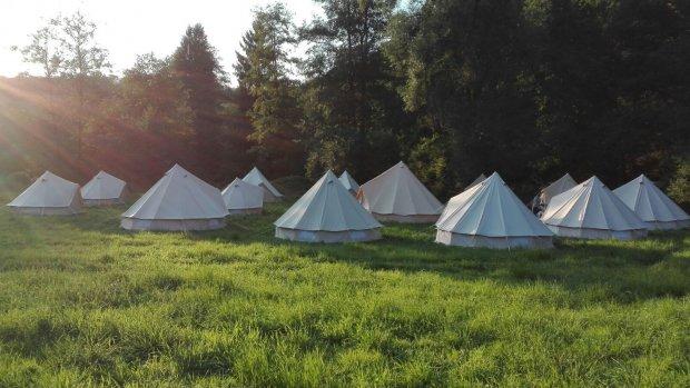 Welke architect maakt de mooiste tent?