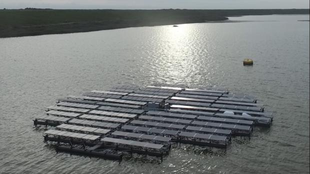 Zijn drijvende zonnepanelen de toekomst?