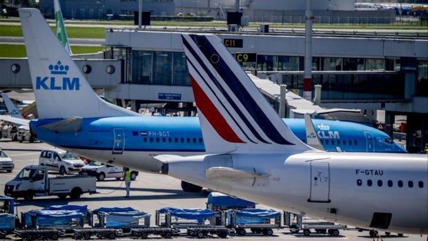Air France-KLM merkt dat passagiers vervoeren beter gaat zonder stakingen