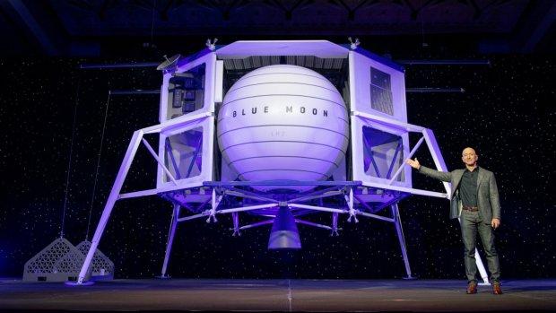 Blue Moon: dit is de maanlander van Amazon-baas Jeff Bezos