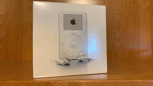 Nostalgie is duur: eerste iPod te koop voor 20.000 dollar