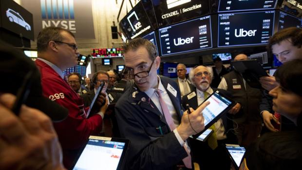 Dramatisch beursdebuut Uber: koers meteen 6 procent lager