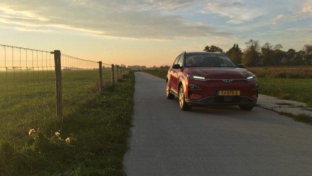 Nieuwe versie elektrische Hyundai Kona kan sneller laden
