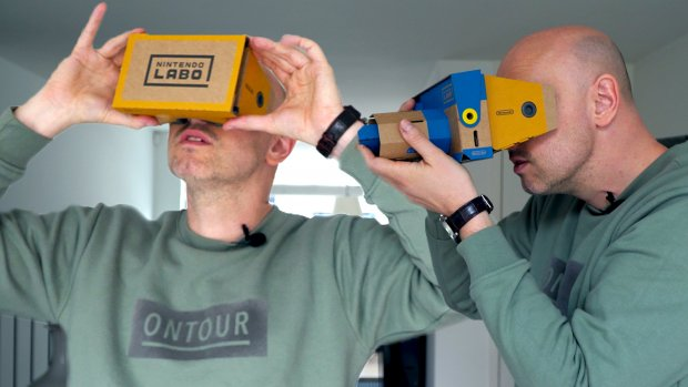 Review: virtual reality met de Nintendo Switch