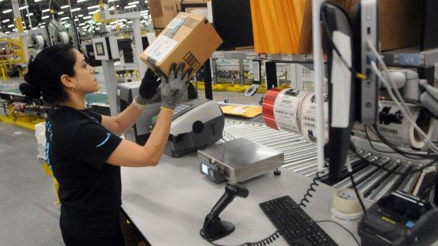 'Inpakrobots van Amazon zorgen juist voor meer banen'