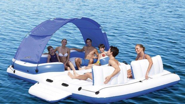 Deze zomer drijf je met al je vrienden op een eigen eiland