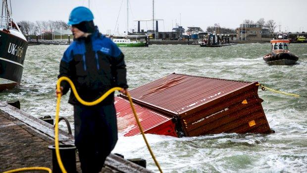 Berging na containerramp al gestopt, milieuorganisatie boos en bezorgd