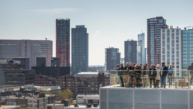 Speeltuin, bos of restaurant: het kan op Rotterdamse daken