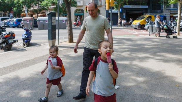 Vaderschapsverlof Spanje leidt tot minder kinderen