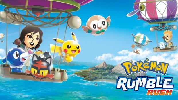 Nieuwe Pokémon-game Rumble Rush voor Android en iOS