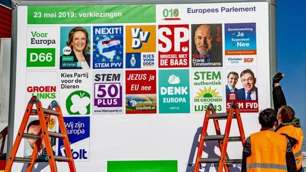 Partijen geven amper geld uit aan campagne Europese verkiezingen