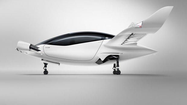 Elektrische luchttaxi maakt eerste proefvlucht