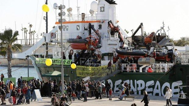 Schikking Nederland en Rusland over enteren Greenpeace-schip