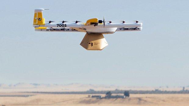 'Google-drones' bezorgen boodschappen in Finland