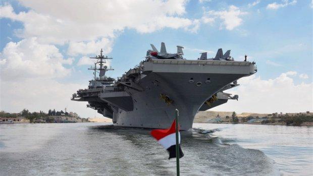VS waarschuwt maatschappijen voor vliegen boven Golfregio
