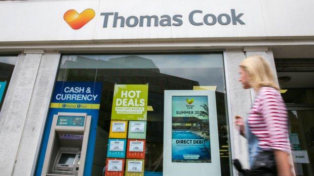Thomas Cook hard onderuit op de beurs: 'Aandeel is waardeloos'
