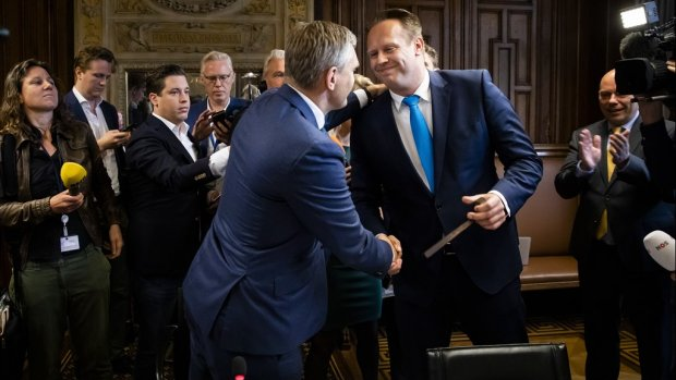 Pieter Heerma nieuwe fractievoorzitter van het CDA