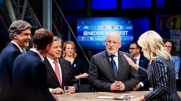 Frans Timmermans neemt in slotdebat afstand van langere WW-export
