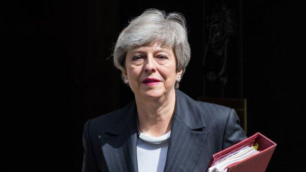 Theresa May vertrekt als premier Groot-Brittannië