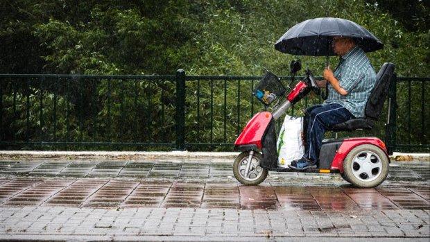 Regen en kou, herfstachtig weer op komst