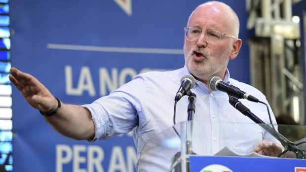 Frans Timmermans neemt zetel in Europees Parlement niet in