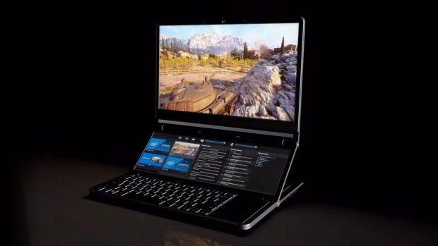 Intel werkt aan opvallende laptop met twee schermen