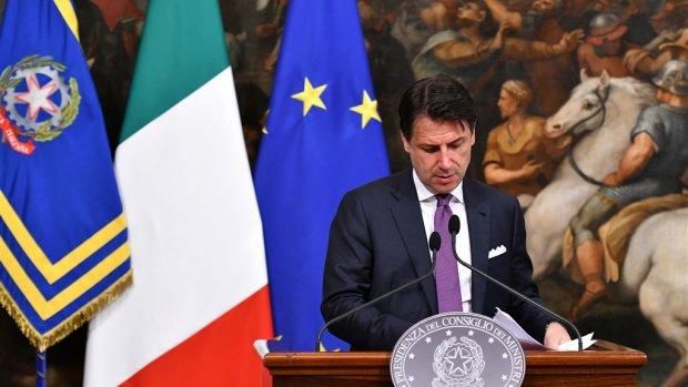 'Italiaanse premier Conte kan mogelijk toch aanblijven'