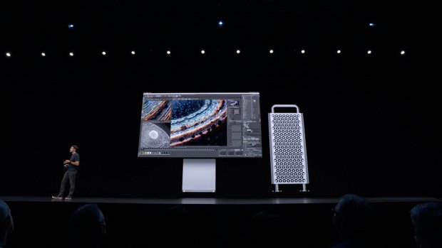 Apple toont krachtpatser Mac Pro voor het zware werk