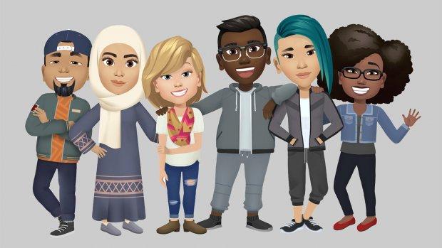 Facebook lanceert persoonlijke avatars