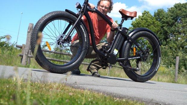 Getest: deze stoere e-bike fietst ontzettend lekker