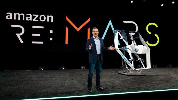 Amazon presenteert nieuwe bezorgdrone
