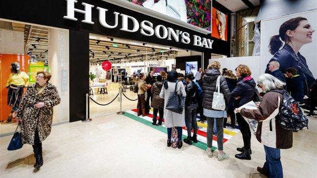 'Winkels, maar ook kantoren en hotels in panden Hudson's Bay'
