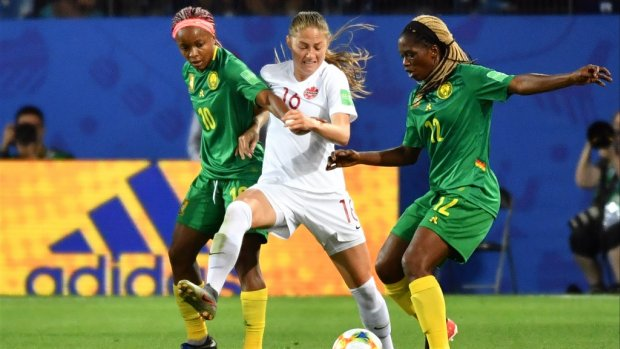 Vrouwenelftal Kameroen: een hele kluif voor de tv-commentator