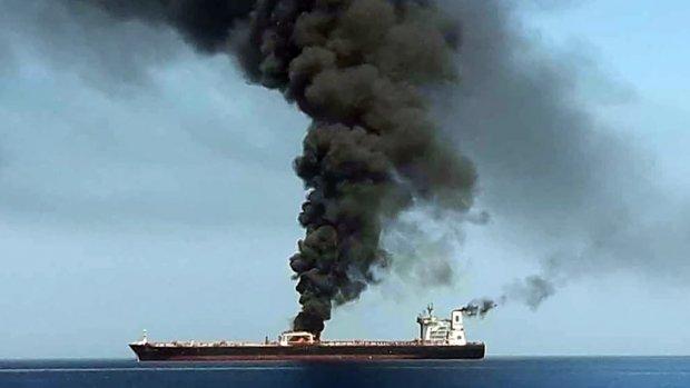 'Aanval' op twee olietankers in Golf van Oman