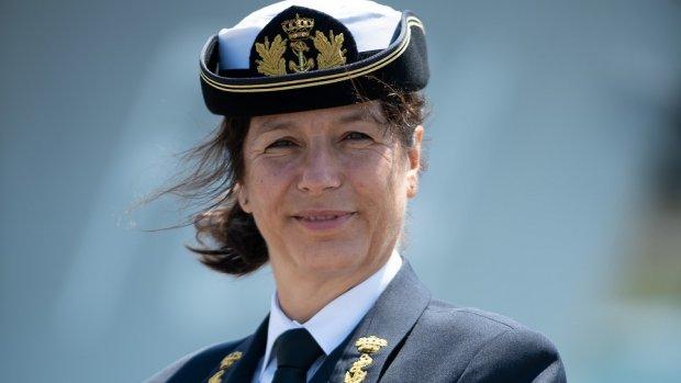Hoogste vrouw bij marine: 'Geen mannenwereld meer'