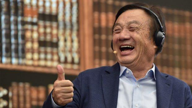 Huawei-oprichter: 'Amerikaanse ban kost ons miljarden'