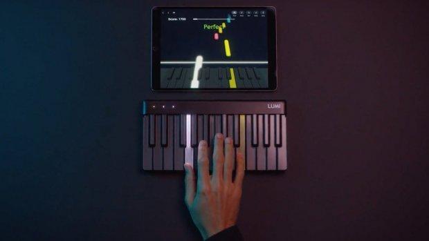 Lumi is Guitar Hero, maar dan voor piano spelen