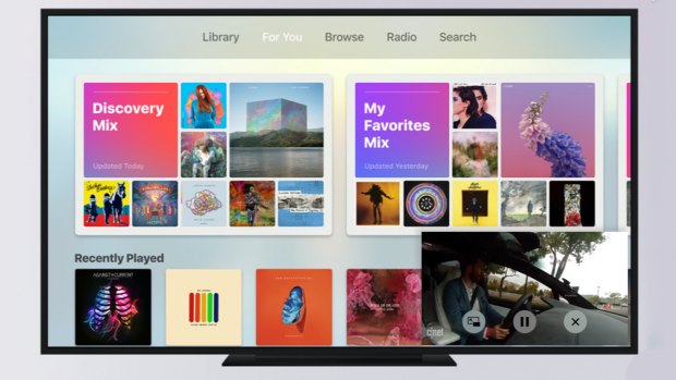 Apple TV krijgt Picture in Picture-modus