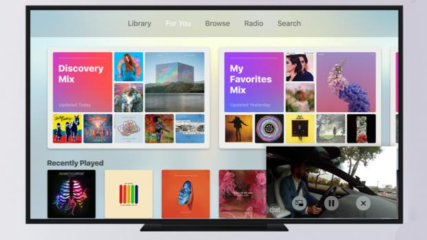 Apple TV krijgt Picture in Picture-modus