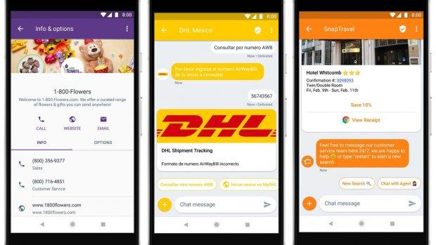 Android start deze maand met sms-alternatief RCS
